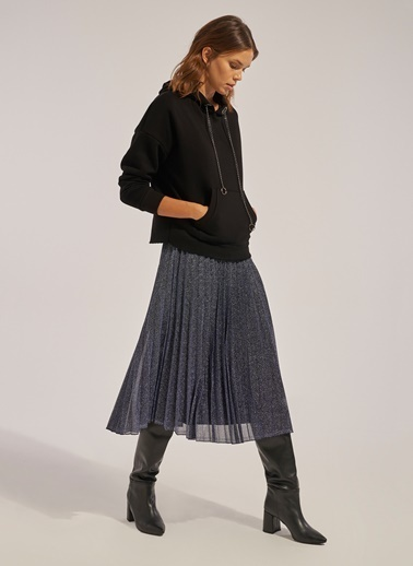 Monamoda Sweatshirt Siyah